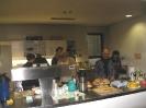 Letzte Vorbereitungen in der Küche